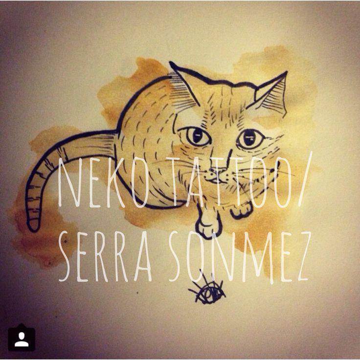 Just a lucky cat / Neko Tattoo & Art Studio