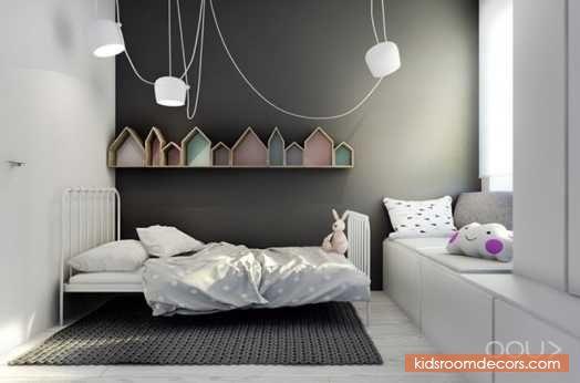 Contemporary And Minimalist Kids' Room Design Inspiration - http://www.kidsroomdecors.com/kids-room-design/contemporary-and-minimalist-kids-room-design-inspiration.html