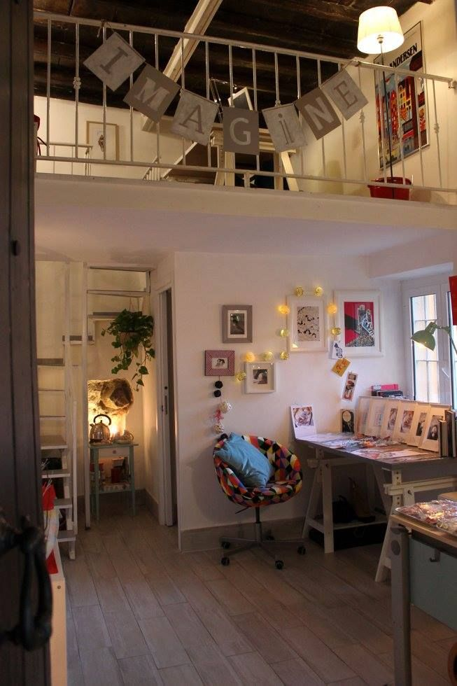 Studio A Castello, Frascati. Art, illustration and comics studio.