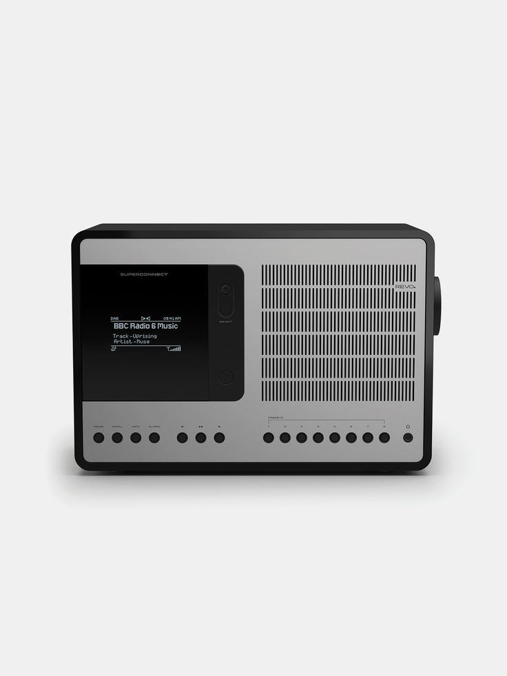 REVO , Super Connect Matt Black  #silver #black #shopigo #shopigono17 #ss16 #conceptstore #onlinestore #onlineshopping #buyonline #onlineconceptstore #technology  #revo #radio