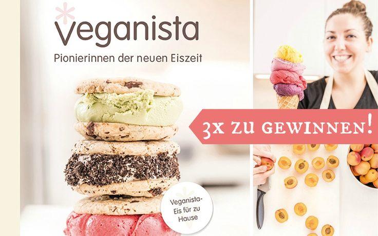 Veganista Eis jetzt als Buch für zu Hause