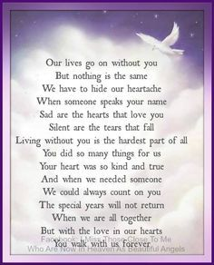happy birthday quotes for brother in law who passed away - Google Search