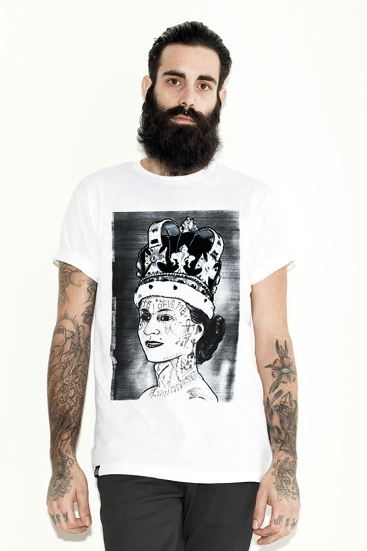 the Save the Queen tee by Young Ghosts