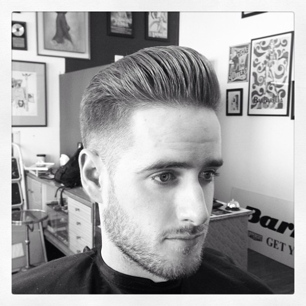 Pomade Hairstyles Amazing 55 Best Hair & Pomade Images On Pinterest  Barber Salon Barbershop