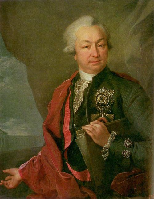 1780s Dmitry Levitzky - Portrait of Ivan Ivanovich Shuvalov
