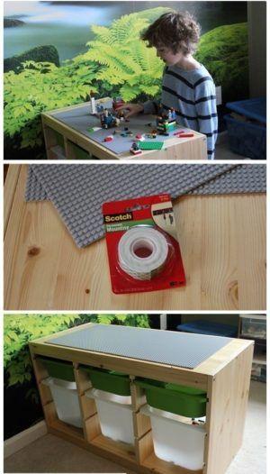 Как сделать игровой стол для Лего - 12 способов