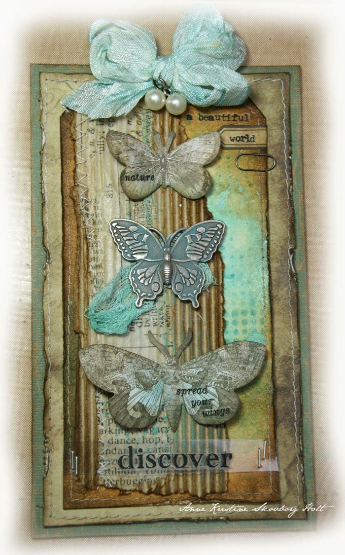 CHA project - Tim Holtz idea-ology - Annes paper fun