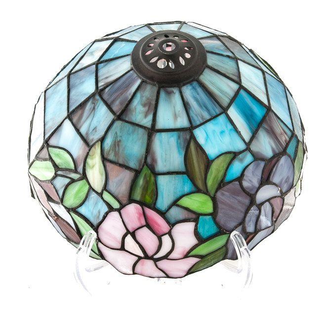 14 best stained glass shade images on Pinterest | Hanging lamps ...