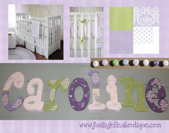 114 Best Images About Girls Hand Painted Wooden Nursery