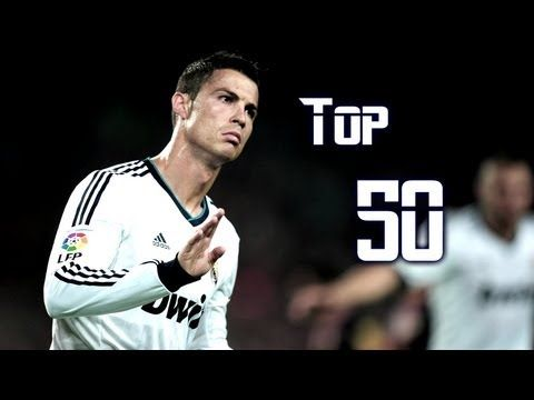 Cristiano Ronaldo Top 50 Goals 2004-2013 With Commentary HD Video By TeoCRi - YouTube