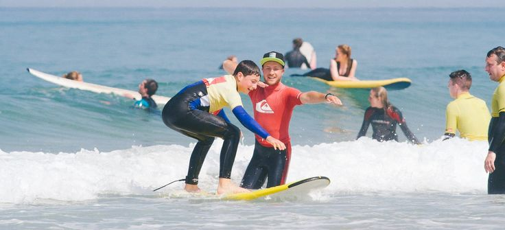 Come surfing at Fistral Beach with the Quicksilver surf school at The Esplande Hotel. Family-friendly in an idyllic Newquay location, book your stay now.