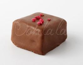 Safron and Rose Petal Marshmallow Enrobed in Belgian Milk Chocolate. www.oohlalaconfectionery.com https://www.facebook.com/pages/Ooh-La-La-Confectionery/552525188122576