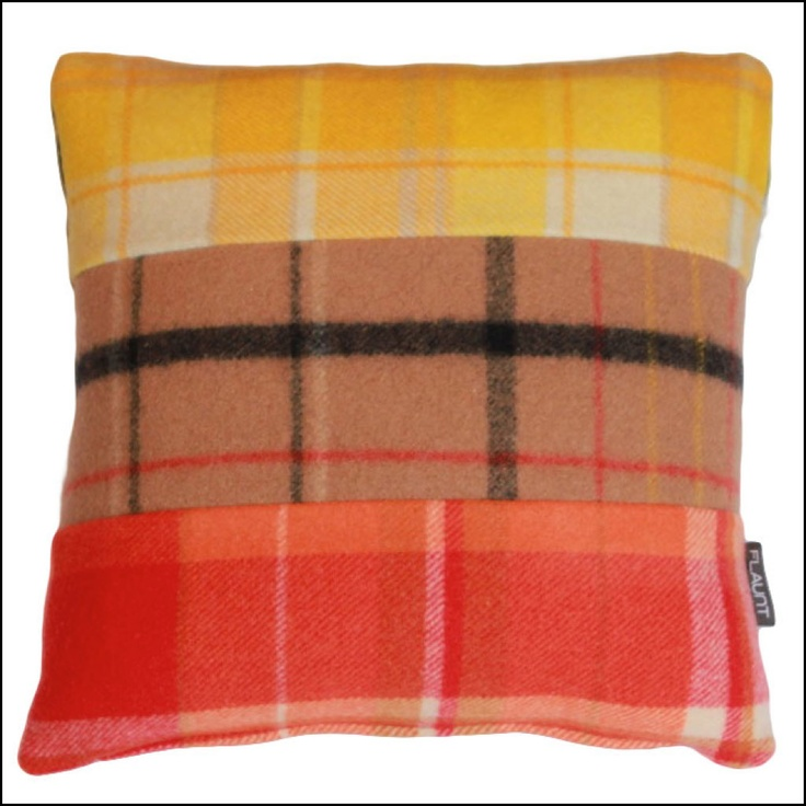 Pure Wool Blanket Cushions Available From flaunt.com.au