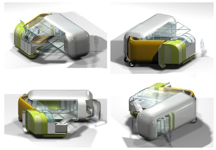 Amazing Camping Trends Cool Caravans Of The Future  Cool Camping And