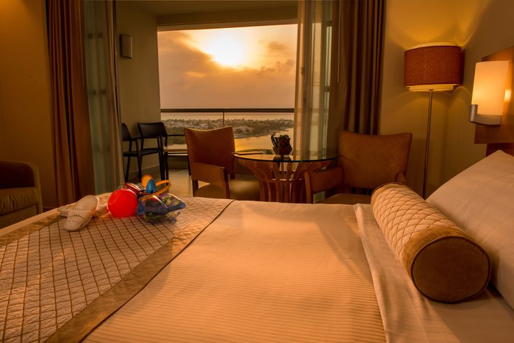 The ocean view suites found at the Beach Palace Cancun Resort.