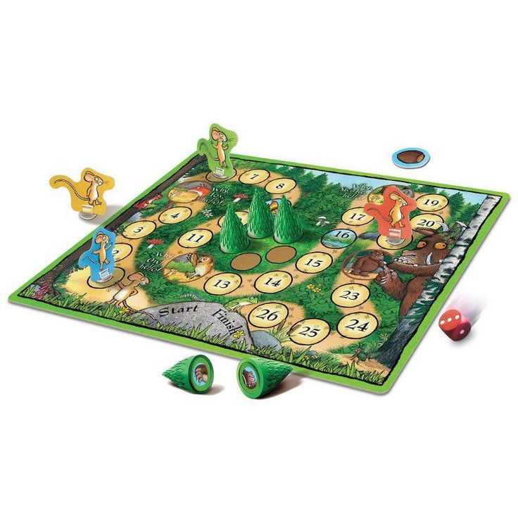 gruffalo match and memory board game instructions