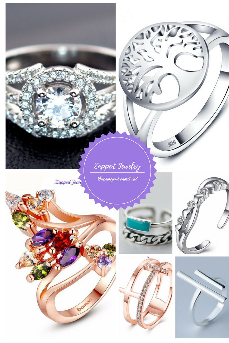 Zapped Jewelry does rings! check the collection at https://zappedjewelry.com/collections/rings For a limited time enter SAVE25 at checkout for 25% off