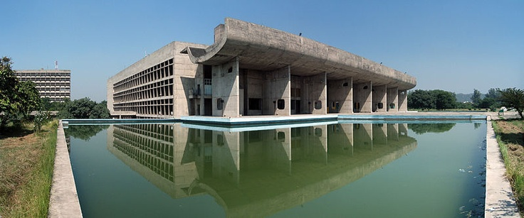 Chandigarh, India capitol complex by Corbusier