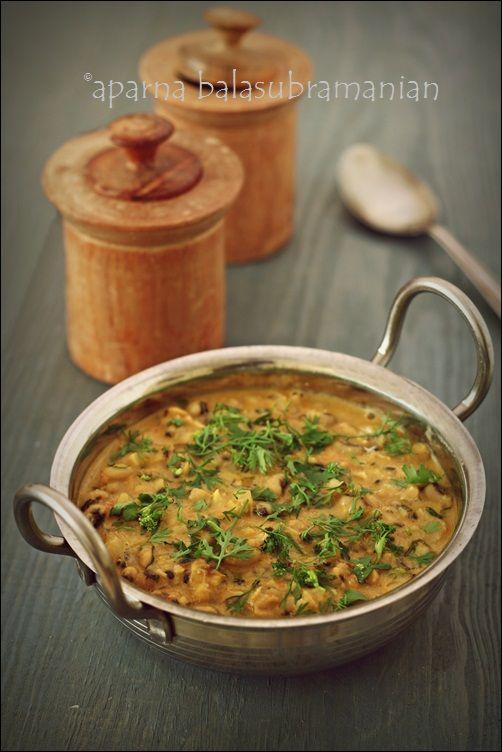 Feijoada - Vegetarian version of a Goan Black-Eyed Bean and Coconut Milk Stew!