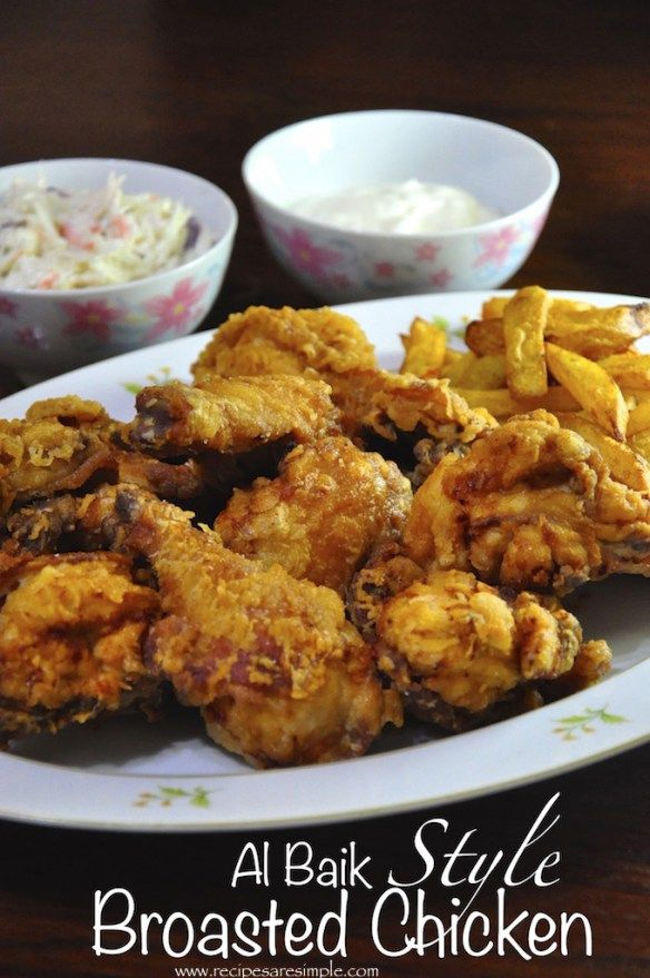 albaik style broasted chicken                                                                                                                                                                                 More