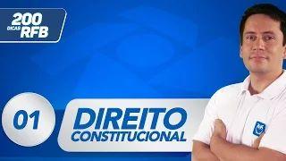 Dicas Receita Federal: Direito Constitucional! Estude ainda mais! #aula #grátis #dica #concursos #estude #concurseiros