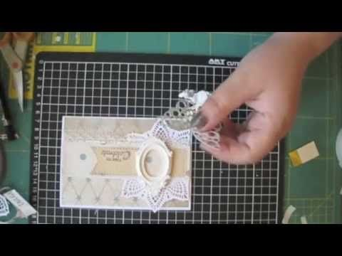 Blomsterbox card * Video tutorial