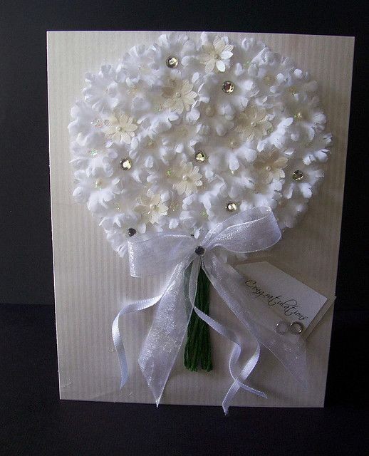 wedding card. Very pretty.