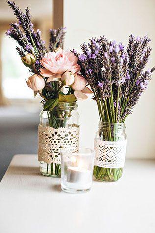 Кружево в декоре свадьбы - свадебный стол, флористика - The-wedding.ru