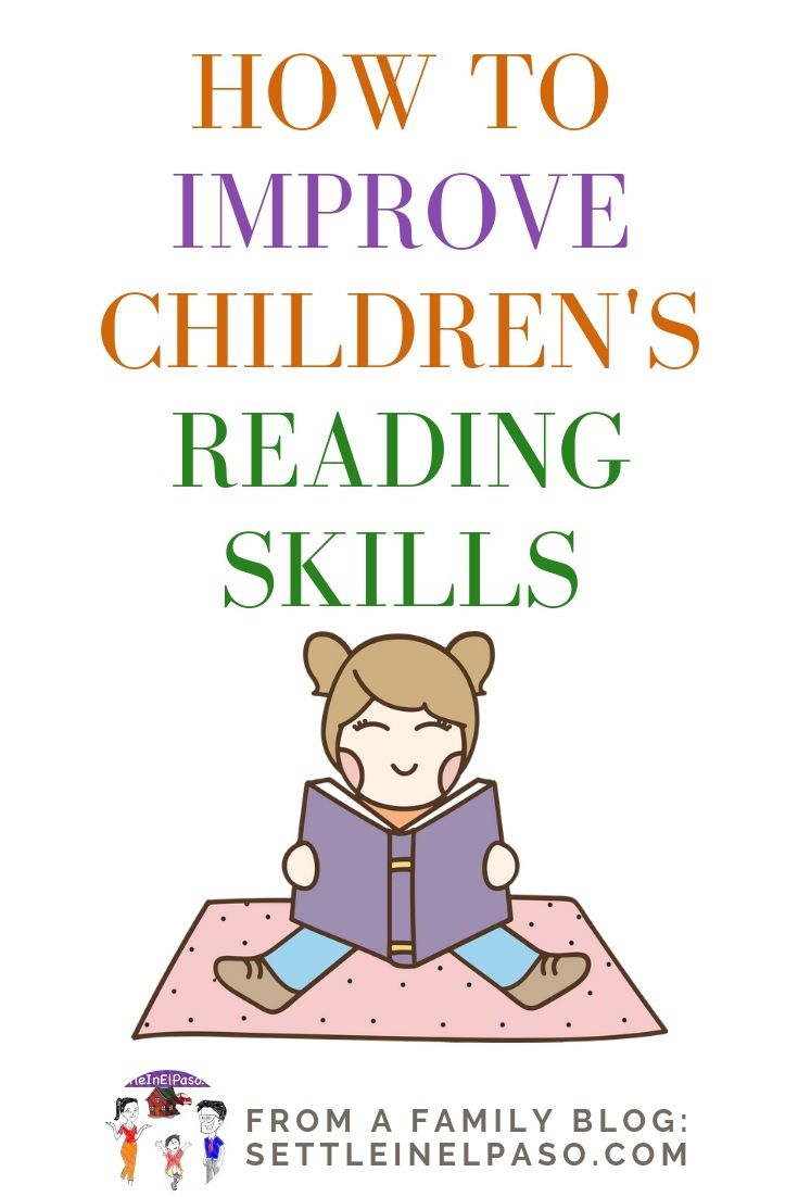 How To Improve Reading Skills Of Children Improve Reading Skills Reading Skills Teaching Reading Preschool How to improve english reading