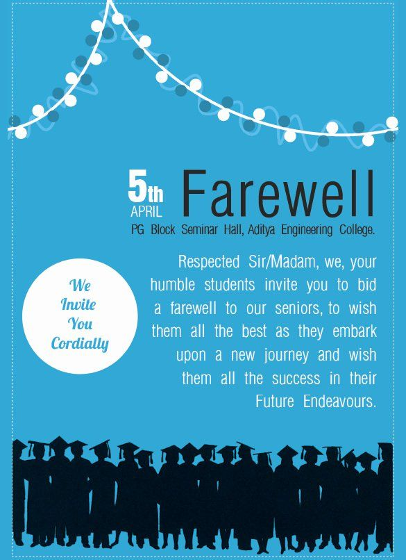 Farewell Party Invitation Template Free Awesome Sample Farewell Invitation Template 8 Down In 2020 Farewell Party Invitations Party Invite Template Invitation Template