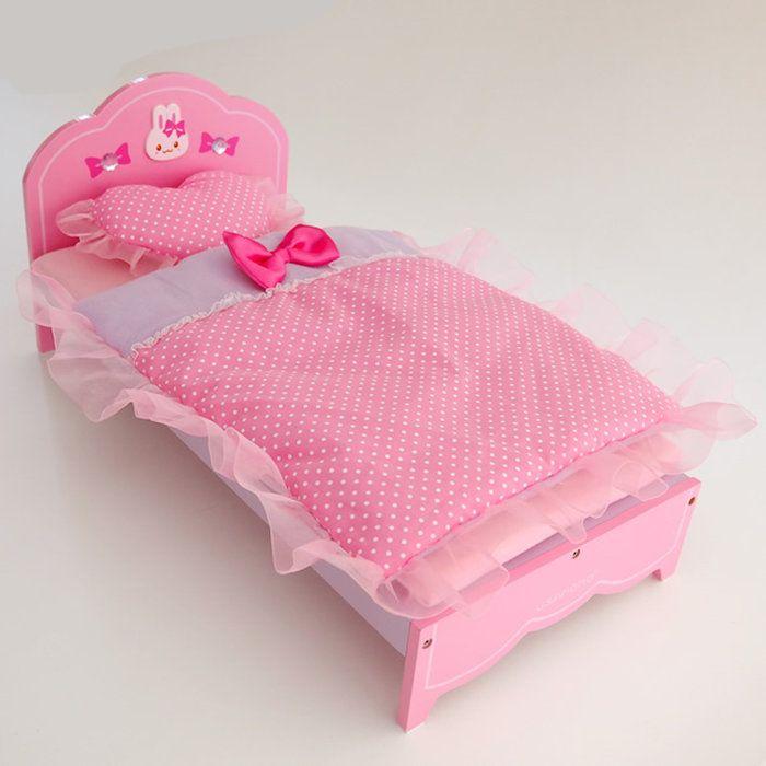 うさももドール用ベッドお人形ごっこ遊び