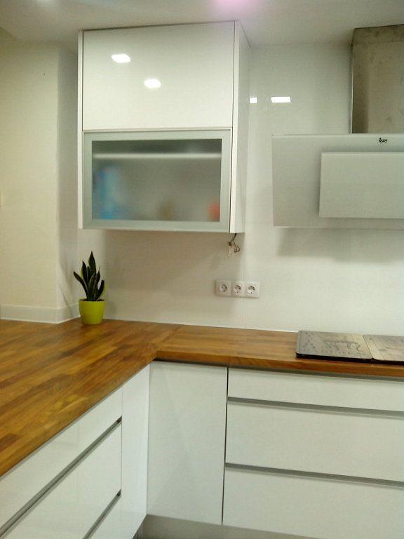 Como Pintar Muebles De Cocina En Blanco. Elegant Beautiful Cocinas ...