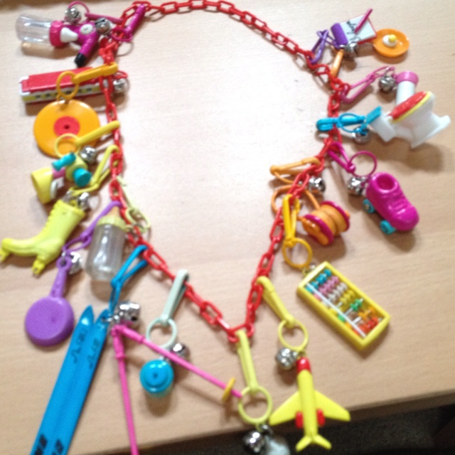 Bringin' it back to the 80's!  #neon #80's #flashback #vintage jewelry #jewelry
