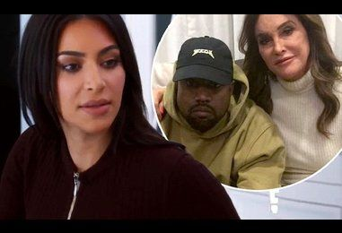 'Kanye's obsessed with Caitlyn!' Kris Jenner talks to Kim Kardashian