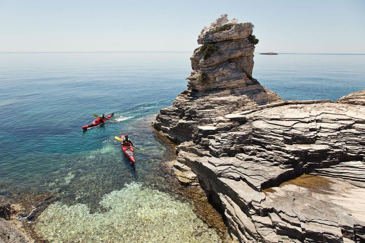 Sea kayaking and paddleboarding offer the newest way to soak in Croatia's stunning coastal beauty.