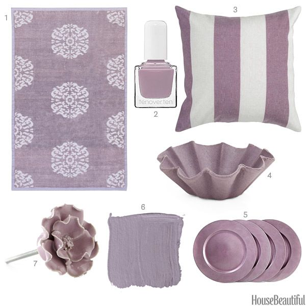 Mauve Home Decor