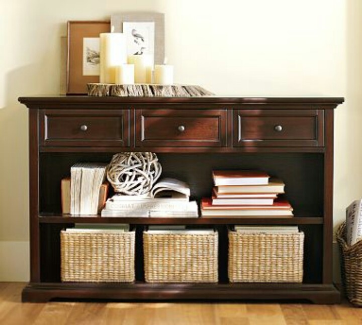 Elegant Entry Table with Storage