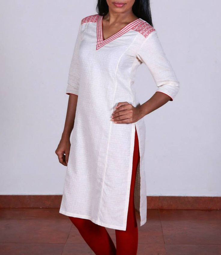 Shop for this collection at http://www.shalinijamesmantra.com/classic-creme/off-white-kurta.html#off white kurta online