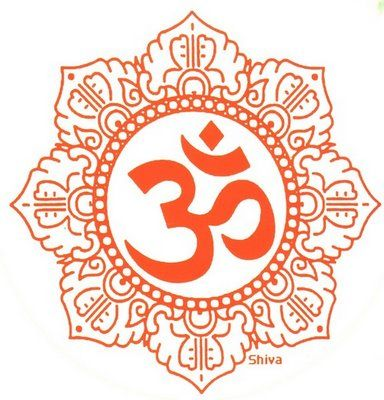 This Is Another Variation Of The Om Symbol Inside The