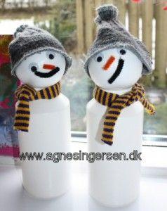 snemænd fra min blog: http://agnesingersen.dk/blog/snemaend/