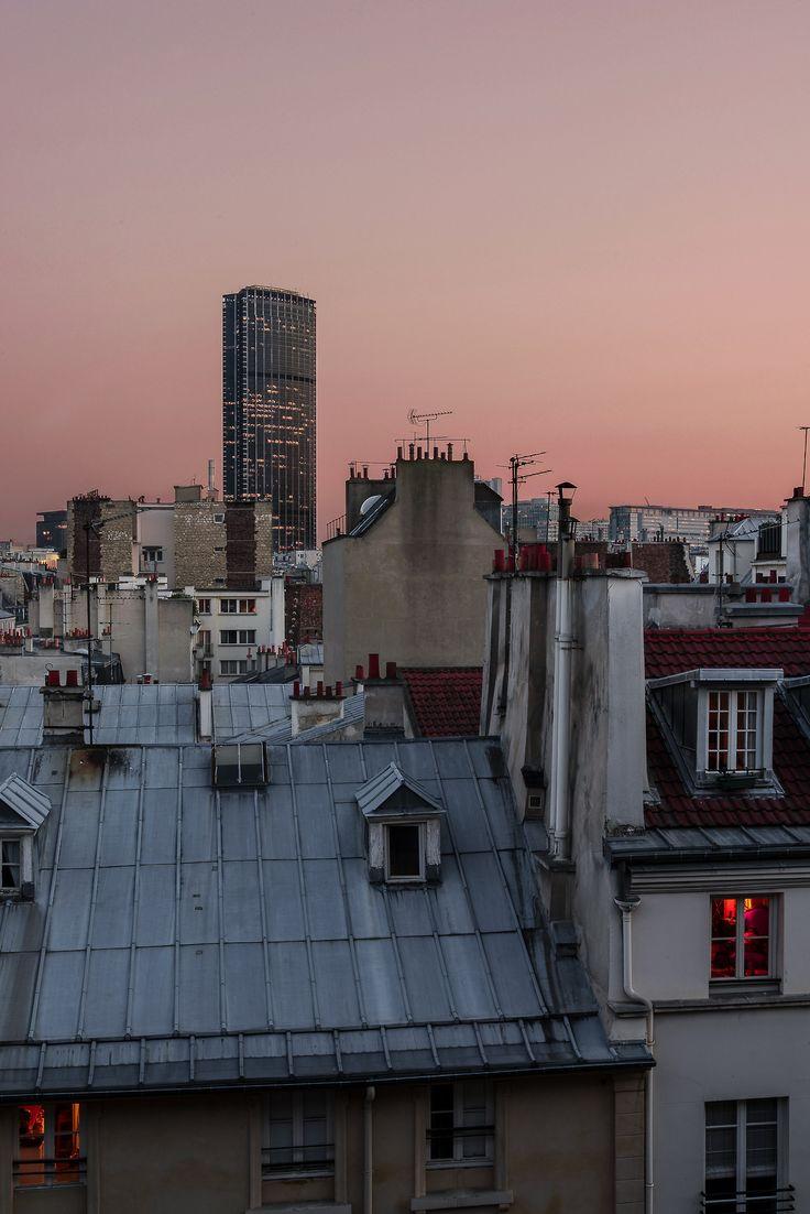 Tour Montparnasse x Sunset