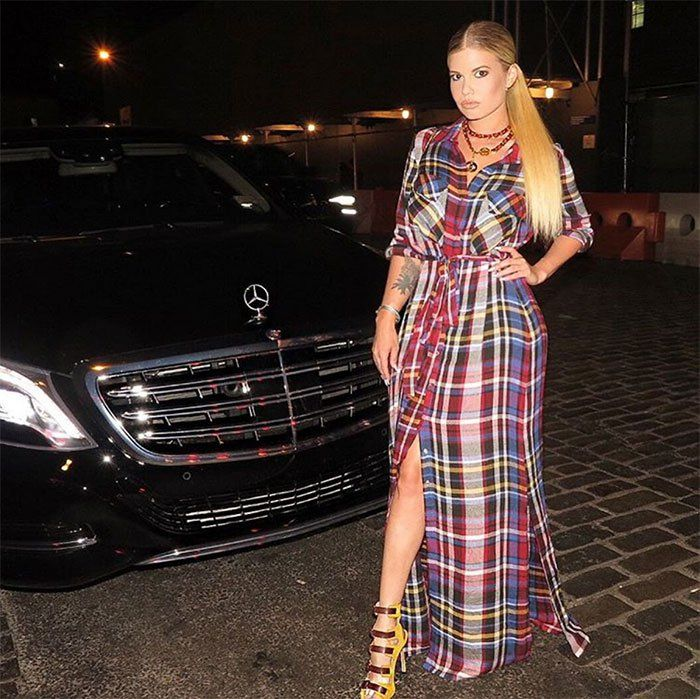 Chanel West Coast in L'AGENCE