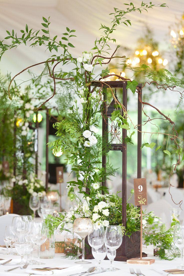 30 best Wild Green Garden Wedding Reception images on Pinterest ...
