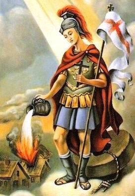 St Florian The Patron Saint Of Chimney Sweeps And Fire