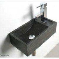 Rubicer Aufsatz-Waschbecken aus Stein KE4022GL
