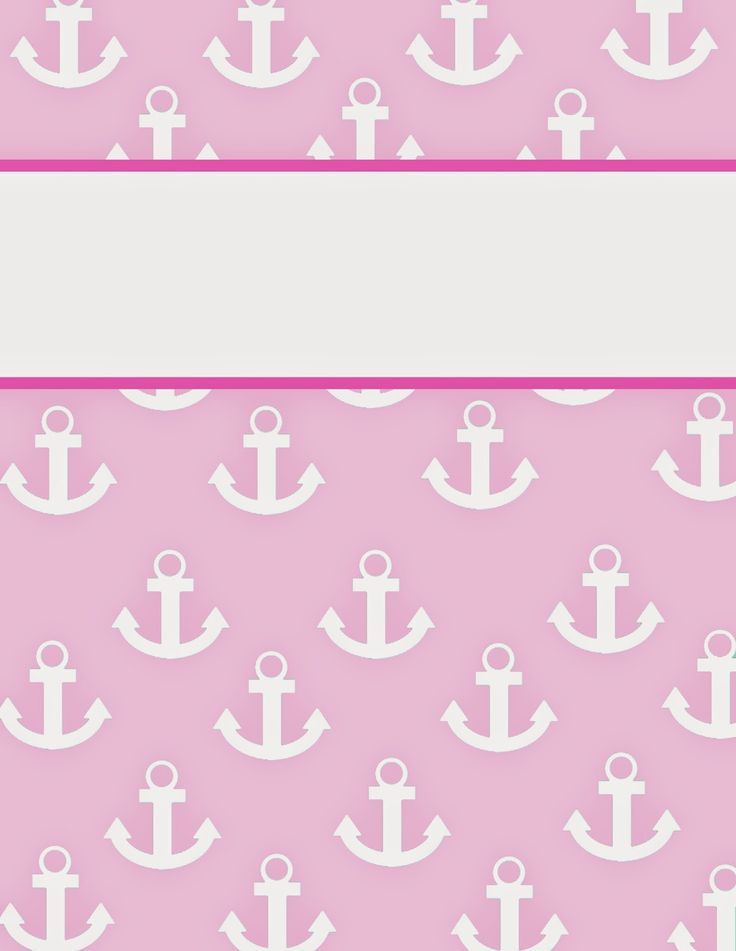 This website has seven different anchor binder covers- one for each class! They even have a template for the side of the binder to match!!  Finally!