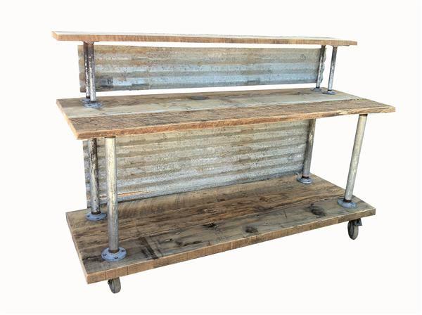 58 Best Corrugated Metal Amp Wood Furniture Images On Pinterest Corrugated Metal Rustic Furniture And Large Sheds