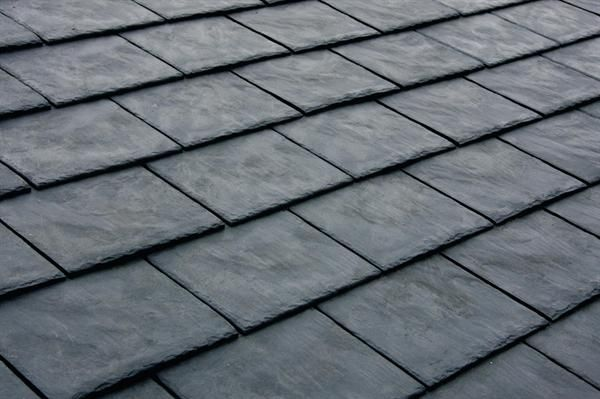 Recycled Slate Style Rubber Roofing Made From Tires Not