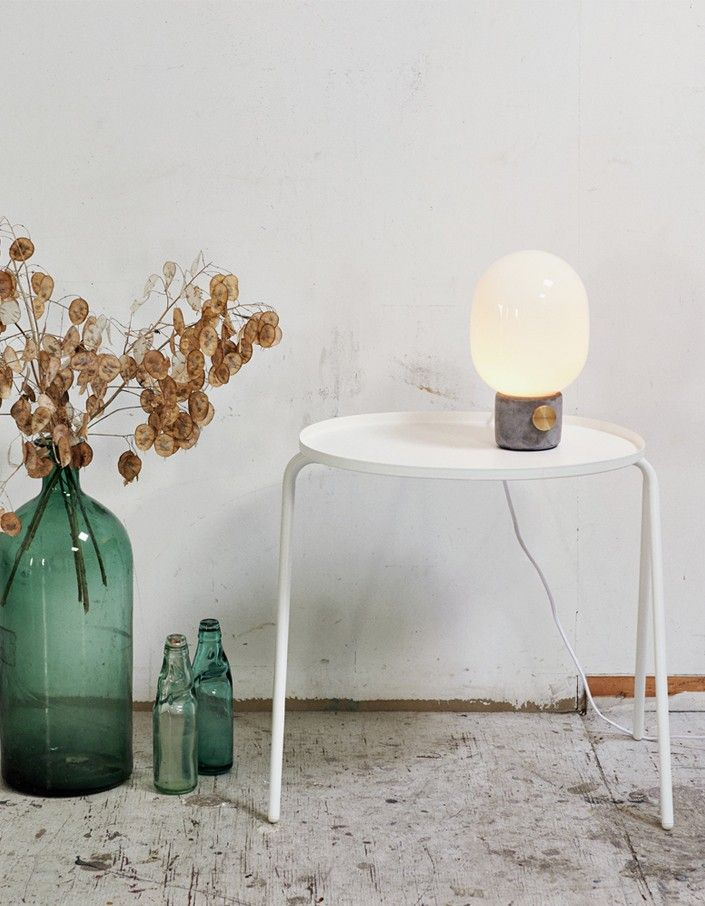 Concrete Lamp - Grey/White - Superette | Your Fashion Destination.