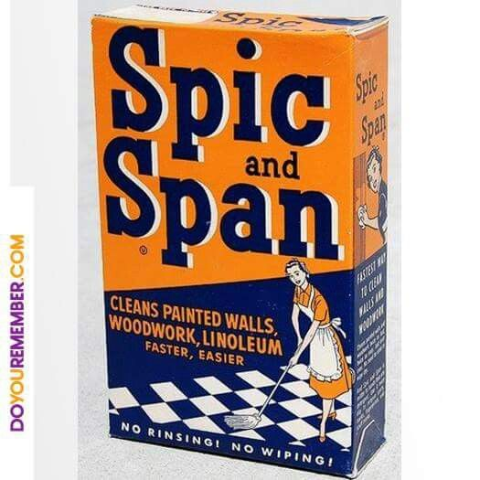I so remember this! I was using it in the 80's for my kitchen floor. In my first real apartment. Smelled and cleaned so good!! {GM}